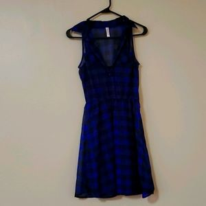 Xhilaration sheer flannel dress.